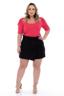 Shorts Saia Plus Size Hope