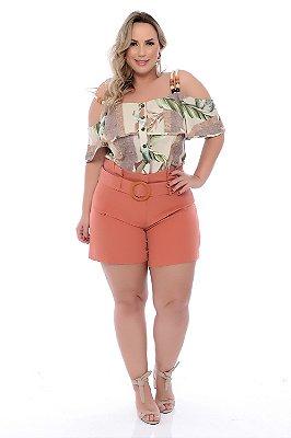 Blusa Ciganinha Plus Size Jezelle