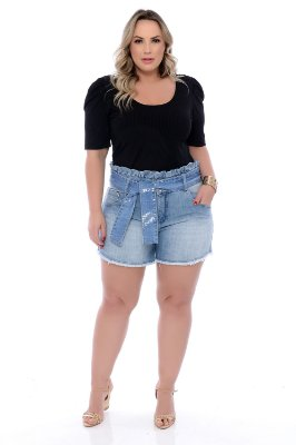 Shorts Jeans Plus Size Kymia