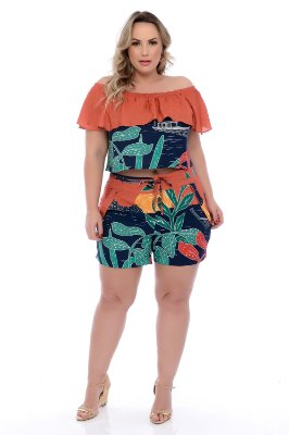 Shorts Plus Size Loriana