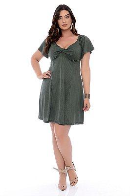 Vestido Plus Size Macalla