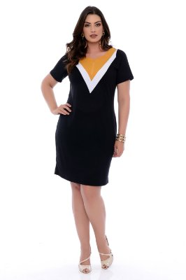 Vestido Plus Size Malane