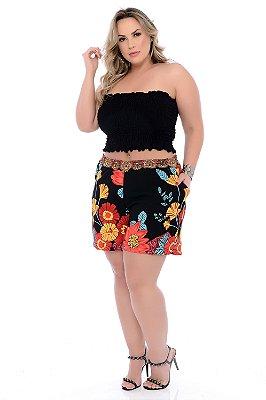 Shorts Crepe Plus Size Veera