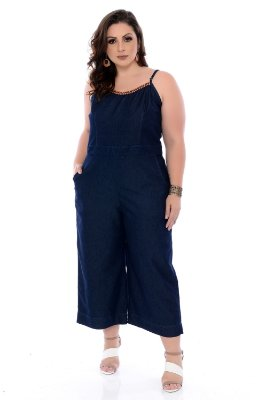 Macacão Pantacourt  Plus Size Yuliana