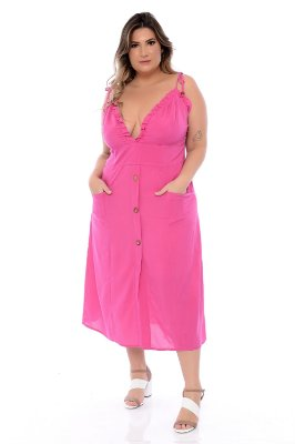 Vestido Plus Size Clarita