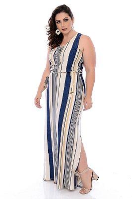 Vestido Longo Plus Size Letizia