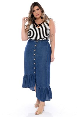 Regata Plus Size Rossela
