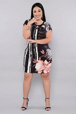 Vestido Plus Size Sayra