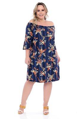 Vestido Plus Size Charlla