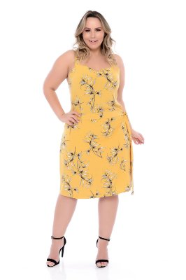 Vestido Plus Size Xamiran