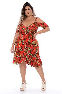 Vestido Plus Size Kamyli