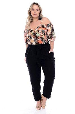 Blusa Plus Size Zebelle