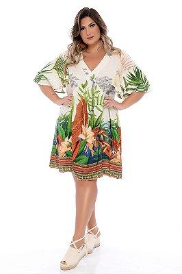 Vestido Plus Size Yhana