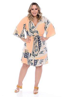 Vestido Plus Size Ellema