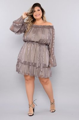 Vestido Plus Size Kemilly