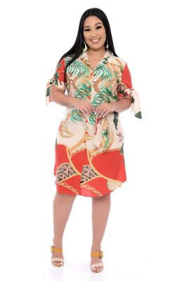 Vestido Plus Size Jhunia