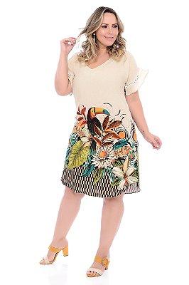 Vestido Plus Size Akkie