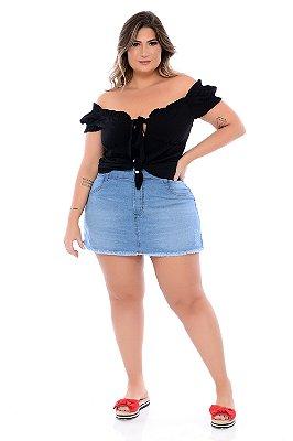 Shorts Saia Jeans Plus Size Brielly