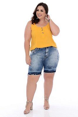 Bermuda Jeans Plus Size Marlhy