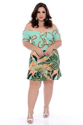 Vestido Plus Size Adhalia