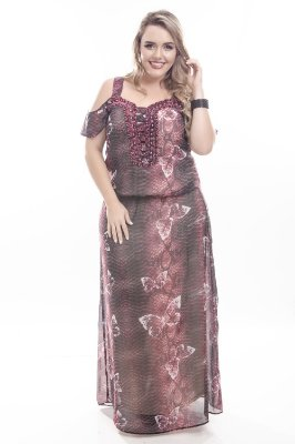 Vestido Plus Size Ashley