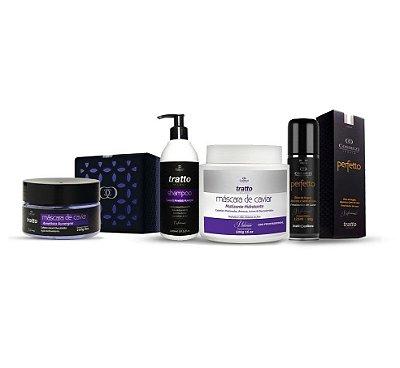 Tratto Loiras Descoloridas - Desamarelador e Hidratante Caviar - 04 Produtos especiais Cosmezi