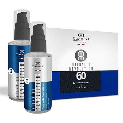 Ritratti Revolution 60 – Peeling e Lifting Facial com Preenchimento de Rugas (2 produtos)