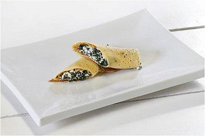 Panqueca Integral de Ricota com Espinafre
