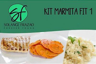 Kit Marmita Fit 1 Solange Frazão - 7 Refeições