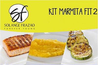 Kit Marmita Fit 2 Solange Frazão - 7 Refeições