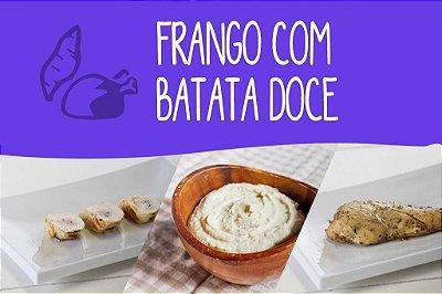 Frango com Batata Doce - 800 Kcal/dia - 7 dias (Almoço, Lanche da Tarde e Jantar)