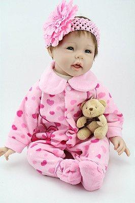 Boneca Bebe Reborn Pietra
