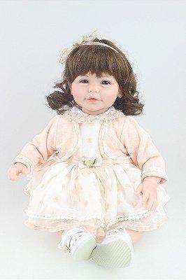 Boneca Bebe Reborn Lily