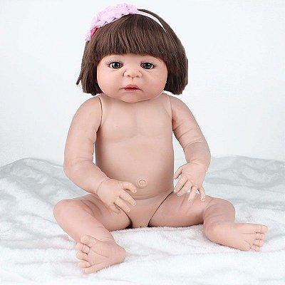 Boneca Bebe Reborn Lizzie Pronta Entrega