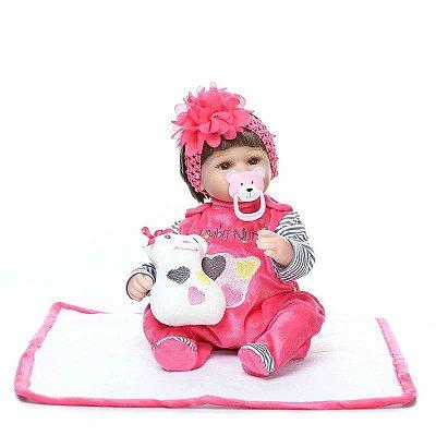 Boneca Bebe Reborn Nyna