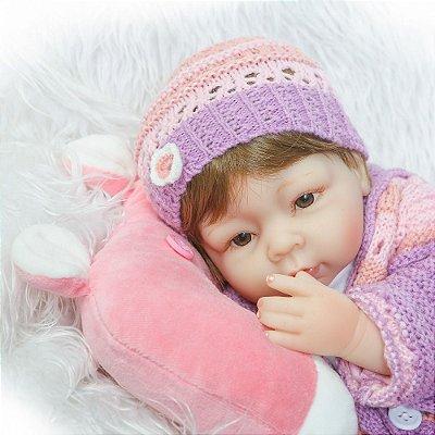 Boneca Bebe Reborn Lydia