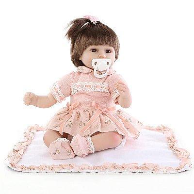 Boneca Bebe Reborn Emma Super Oferta