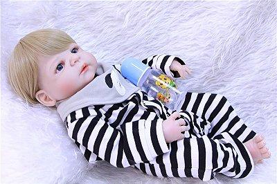 Bebe Reborn Em Silione Breno Oferta