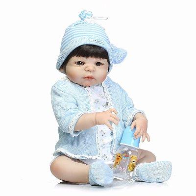 Bebe Reborn Em Silicone Artur
