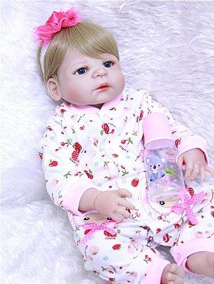 Bebe Reborn Em Silicone Sofia
