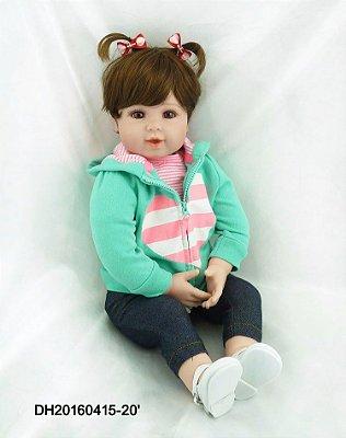 Bebe Reborn Ludy Pronta Entrega