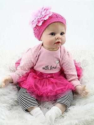 Boneca Bebe Reborn R16