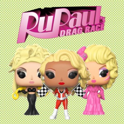 Funko Pop Brasil - RuPaul Drag Race