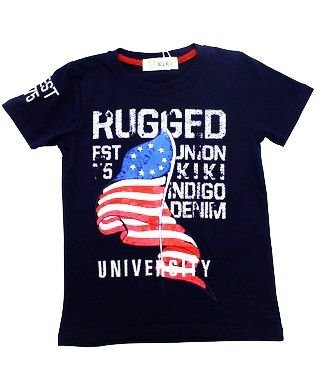 Camiseta Masculina University Kiki