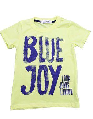 Camiseta Masculina Blue Joy Kiki