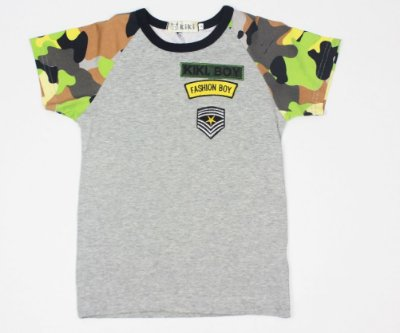 Camiseta Exército Infantil Masculina Kiki