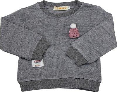 Casaquinho de Lã Feminino Bebê
