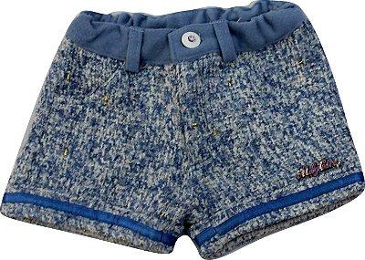 Shorts bebê feminino Mily