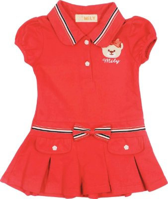 Vestido Polo Feminino Baby  Mily