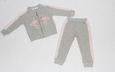 Conjunto Feminino Flamingo  Mily